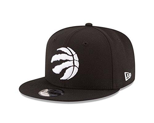 New Era Stock - New Era NBA Toronto Raptors Men's 9Fifty Snapback Cap, One Size, Black