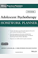 Adolescent Psychotherapy Homework Planner, 5th Edition (PracticePlanners) Paperback