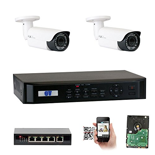 HD 1080P Security Network ONVIF POE IP Camera