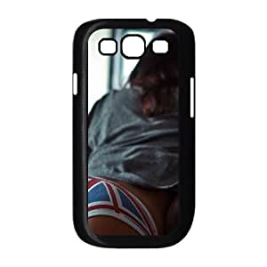 Samsung Galaxy S3 9300 Cell Phone Case Black Lazy Day Girl Uk Sofa LV7089521