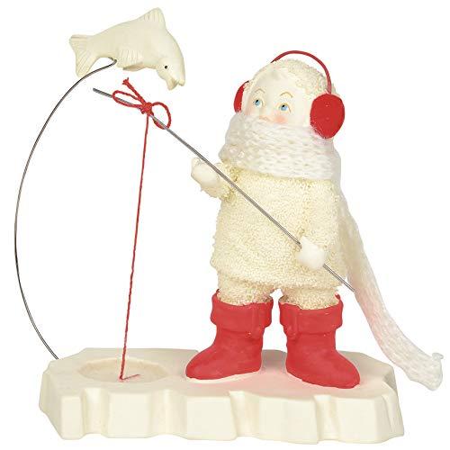 Department 56 Snowbabies Classics Close But No Catch Figurine, 5 Inch, Multicolor