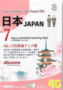 Japan Docomo Data Sim with 7GB High Speed Data for 7Days (Best Prepaid Sim Card Philippines)