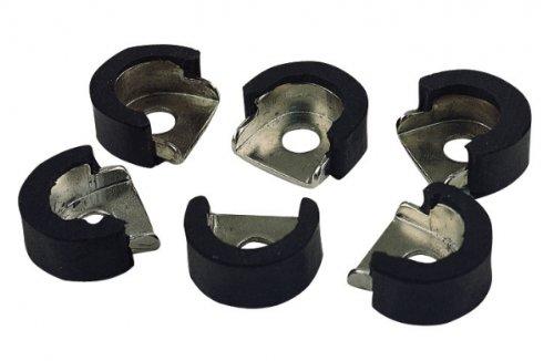 Latin Percussion LP628G-C Galaxy ProCare Conga Shell Protectors, 6-Pack, Chrome
