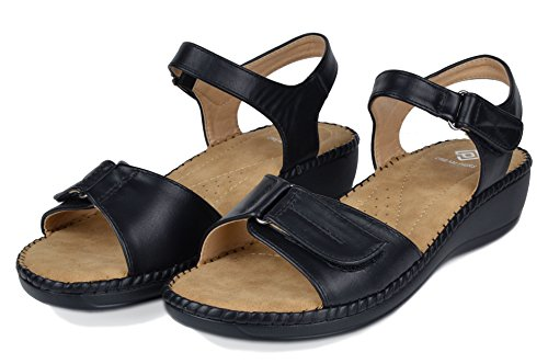 black Women's PAIRS Sandal Platform Wedge DREAM 05 7ZYw8Z