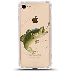 iPhone 7 Shock Absorbent Case (4.7 inch screen), fishing Design