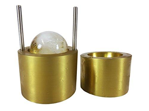 round ice cube maker copper - 2