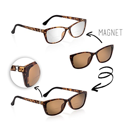 2 de eyewear Matt dpt marron 50 Braun soleil Havanna magic Lunette Femme qUxzE4za