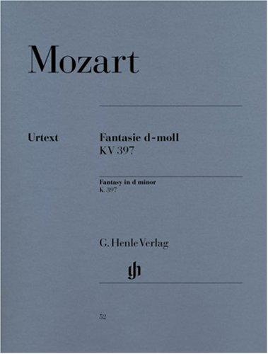 Mozart: Fantasy in D Minor, K. 397 (385g)