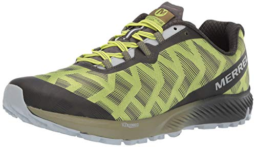 Merrell Men's Agility Synthesis Flex Sneaker, Lime Punch, 10.5 M US (Wolverine Trail Runner)