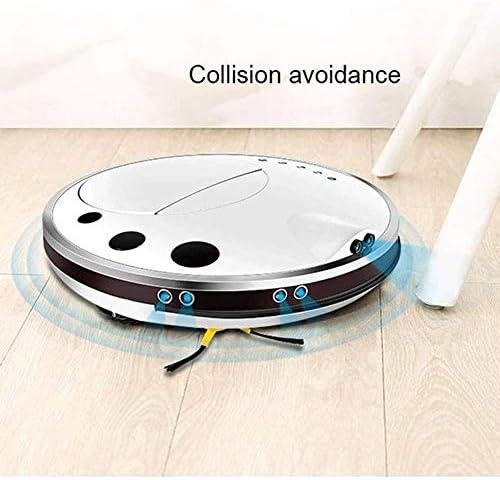 Bdesign Aspirateur Robot, Super-Thin, Super-Forte Aspiration, Calme, de Recharge Automatique Aspirateur Robot, Nettoie Dur à planchers Tapis Moyen Pile