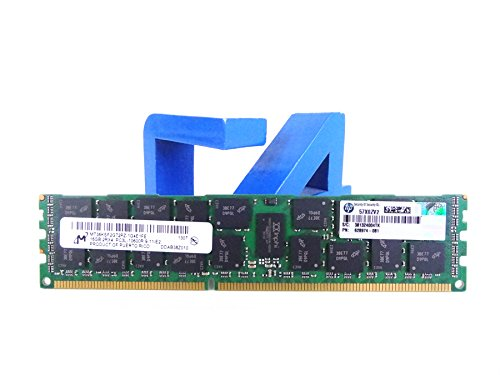 HP Compatible 16GB PC3-10600 DDR3-1333 2Rx4 1.35v ECC Registered RDIMM (HP PN# 628974-081)