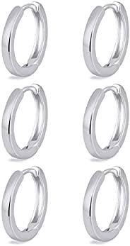 micuco Small Hoop Earrings for Women 14K Gold Hoop Huggie Earrings for Men Hypoallergenic Earrings Tiny Cartil