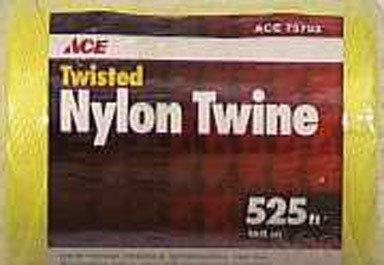 Seine Twine Twisted Nylon Wellington (Twine, Twisted Nylon Seine Twine, Yellow, #18 X 525')