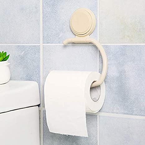 Amazon.com: Best Quality 1pc multifunctional plastic seamless hook strong adhesive suction cup towel rack toilet paper holder storage rack 0: Kitchen & ...