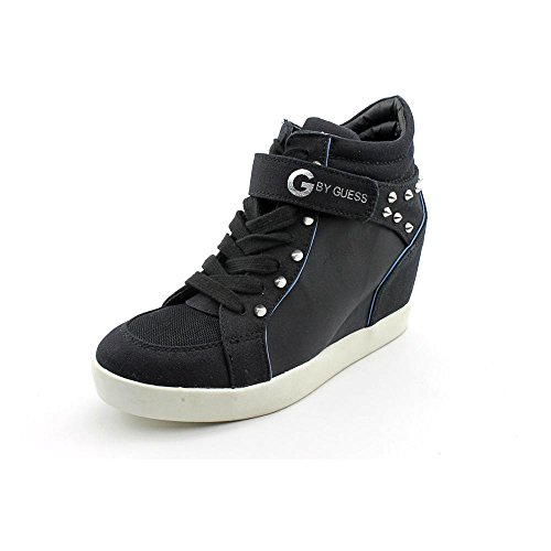 G By Guess Popstar Womens Size 6 Black Textile Sneakers Shoes