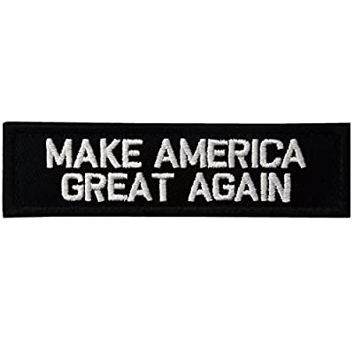 Make America Great Again Rear Hat Velcro Patch