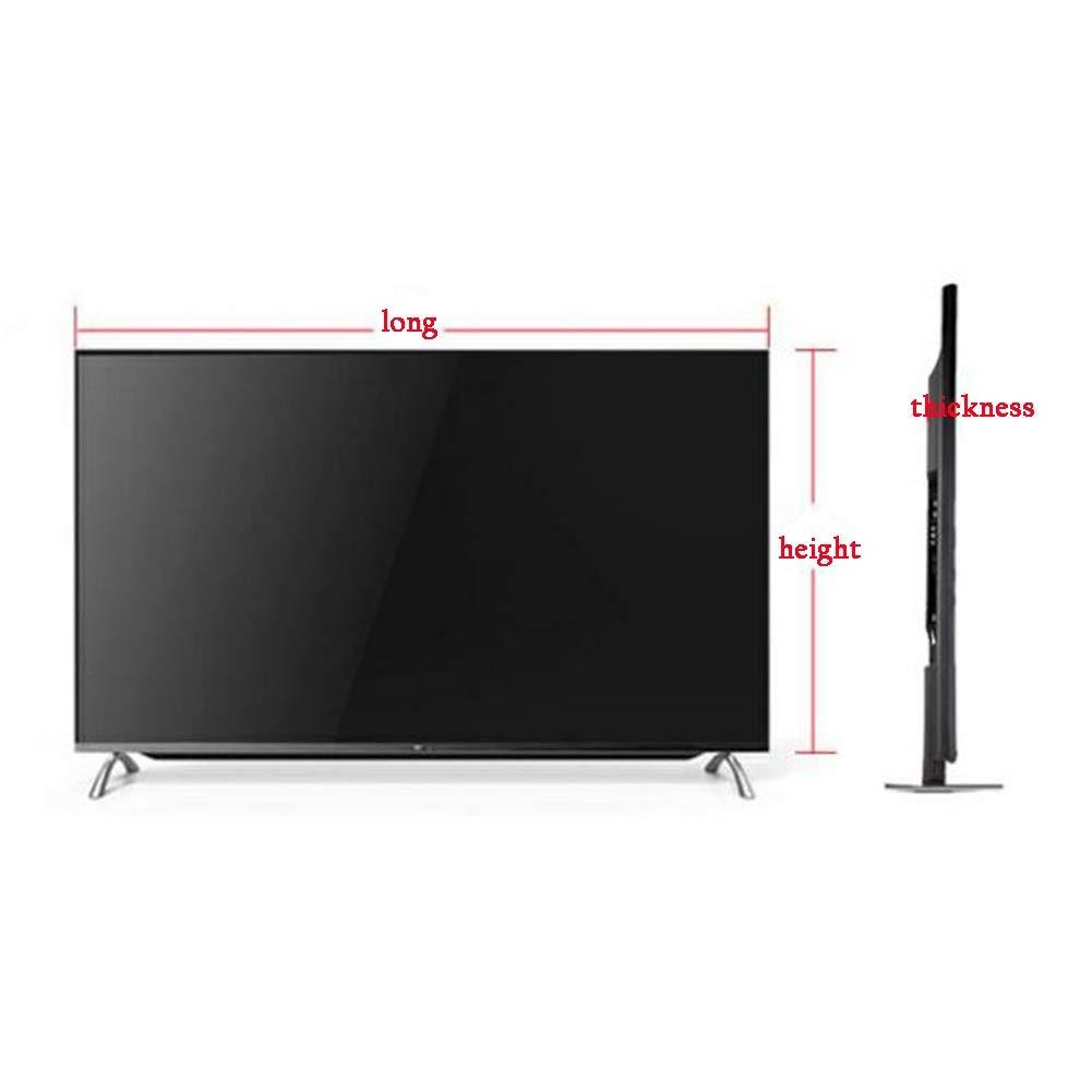 WWWANG - Cubierta decorativa para TV con pantalla LCD, resistente al polvo, protección solar (color: ciervo, tamaño: 50 pulgadas): Amazon.es: Hogar