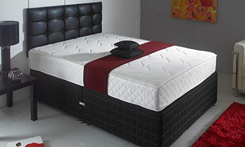 Jumpi Memory Foam Matress Luxury Sprung 6″ Mattress (4FT6)