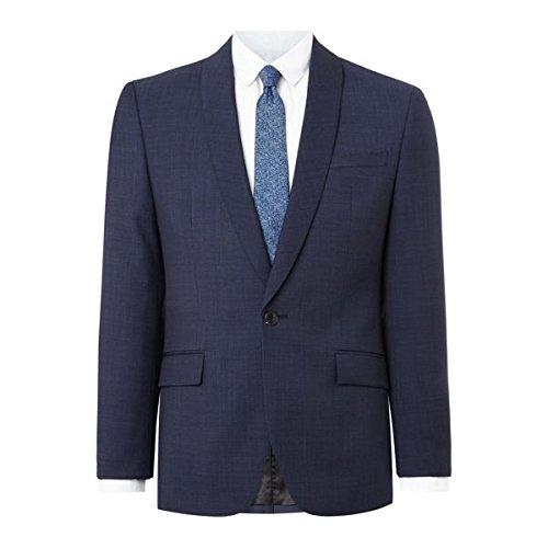[ケネスコール] メンズ ジャケット&ブルゾン Henson Shawl Pindot Slim Fit Suit Jacket [並行輸入品] B07F35P7GP 46 Regular