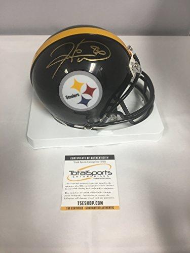 Hines Ward Signed Autographed Pittsburgh Steelers Mini Helmet TSE COA & Hologram