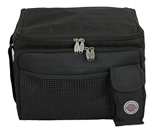 (Transworld Durable Deluxe Insulated Lunch Cooler Bag (Many Colors and Size Available) (13 1/2