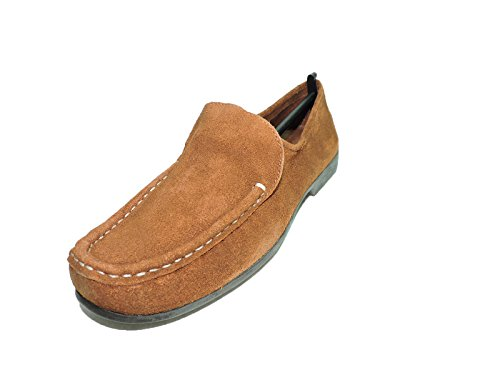 Bernardo Womens Guidabene Suede Brown Acorn Flat, Moccasin Loafers Size 7 M