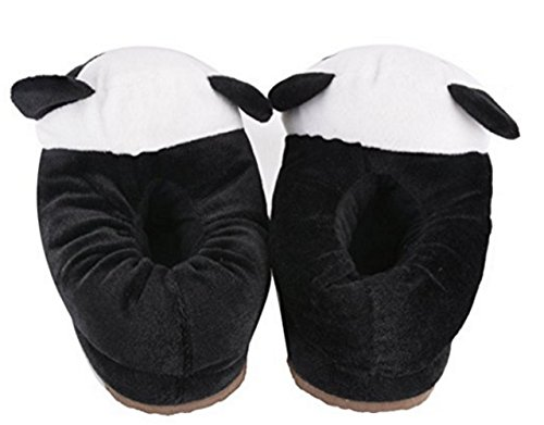 Schattige Antislip Indoor Pluche Pantoffels Winter Dikke Huis Slippers Fuzzy Animal Slippers Panda