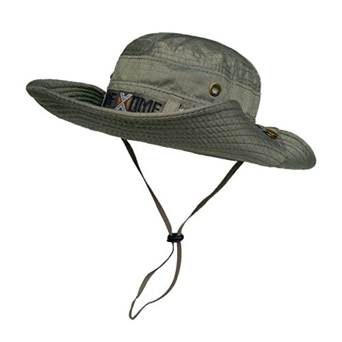 Lethmik fishing sun boonie hat summer uv protection cap for Fishing boonie hat