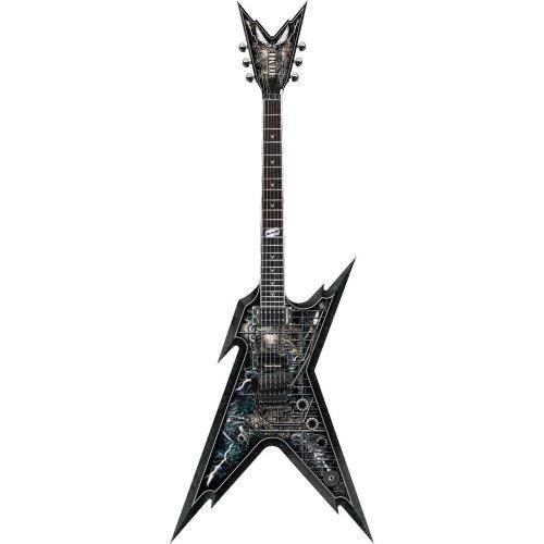 Dean Razorback Guitar, Cemetery Gates with Case