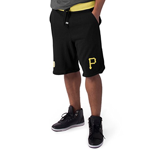 '47 MLB Pittsburgh Pirates Men's Post Up Shorts, Medium, Jet (Mlb Post)