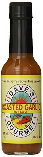 Dave's Gourmet Hot Sauce, Roasted Garlic, 5 ()