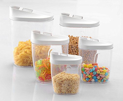 - Prairie House Small Food Storage Containers: 10-Piece Food Storage Containers + Whiteboard Stickers + Marker Set| Assorted Sizes & Slide-Back Lids | Leak Proof, Stackable, BPA-Free & Refrigerator Safe