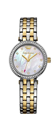 Juicy Couture Women's 'Cali' Quartz Stainless Steel Casual Watch, Color:Two Tone (Model: 1901470)