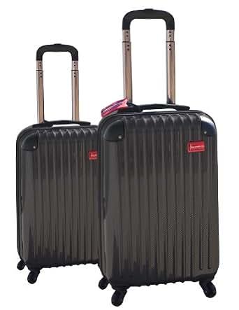 "ThermalStrike 20/24"" Bed Bug Proof Heated Luggage Set"