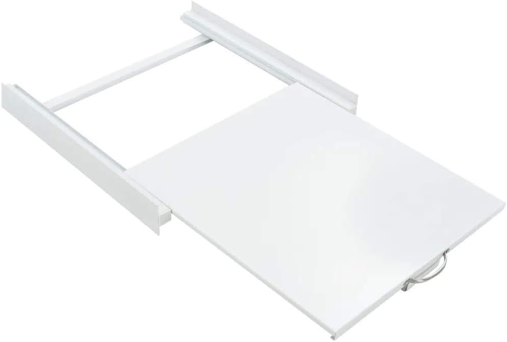 SOULONG Accesorios para Secadora Universal de Servicio Pesado, Bandeja apiladora extraíble, Kit de apilamiento para Lavadora Secadora, 60 x 60 x 8 cm