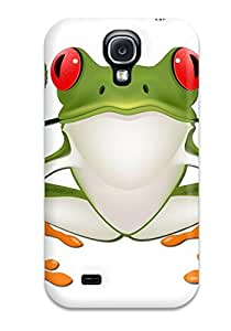 Anti-scratch And Shatterproof Frog Prince Phone Case For Galaxy S4/ High Quality Tpu Case