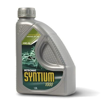 PETRONAS SYNTIUM 1000-10W40 - Aceite sintético para motor, 1 l: Amazon.es: Coche y moto