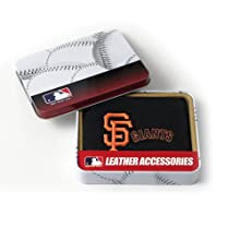 MLB San Francisco Giants Embroidered Genuine Cowhide Leather Trifold Wallet