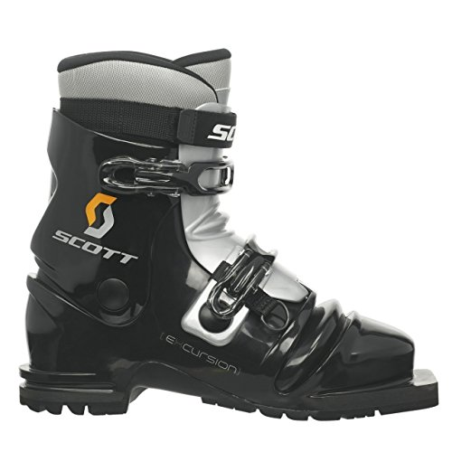 SCOTT Excursion Telemark Boot-Black/Silver-24.5 by SCOTT