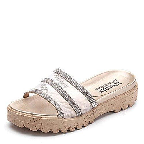Piscina Gruesas Colores Baño A Opcionales Opcional Verano de 2 Zapatillas Zapatillas de de Baño Tamaño de Zapatillas Zapatillas ZZHF O0PCvxwq