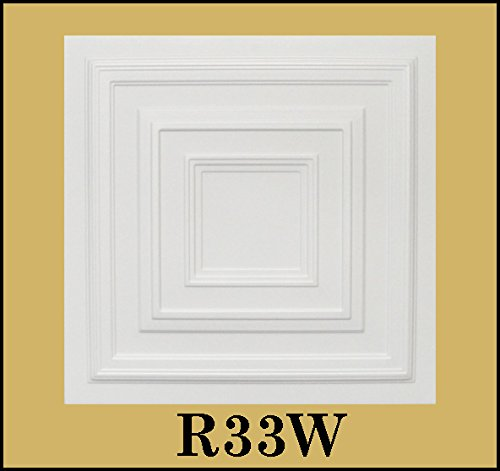 tin-look-glue-up-ceiling-tiles-20x20-styrofoam-extruded-polystyrene-r33w-lot-of-8