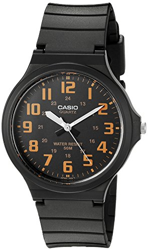 Casio Men's 'Easy To Read' Quartz Black Casual Watch (Model: MW240-4BV)