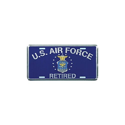 Air Force Plate - Honor Country US Air Force Retired License Plate