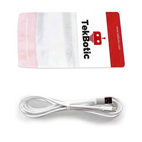 tekbotic PunchFlow cable Braided white