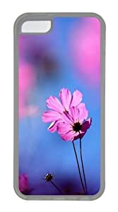 TYHde iPhone 6 4.7 Case, iPhone 6 4.7 Cases -Cosmos flower Custom TPU Soft Case Cover Protector for iPhone 6 4.7 Transparent ending