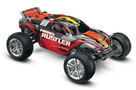Nitro Buggy Tuning (Traxxas Nitro Rustler: 2WD Stadium Truck with TQi 2.4 GHz Radio & TSM (1/10 Scale), Silver/Red)