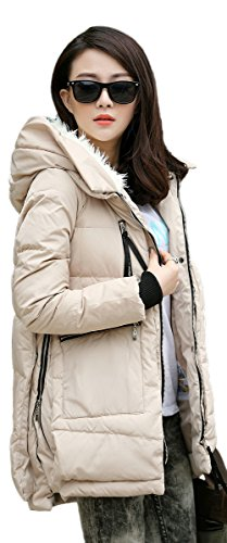 Jacket Orolay Thickened Beige Down Women's Sx6trBqS