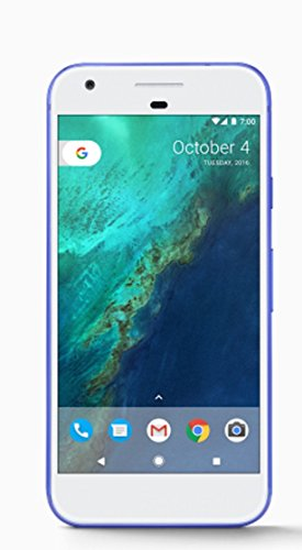 Google Pixel Phone 32GB - 5 inch display , Factory Unlocked US Version, Blue