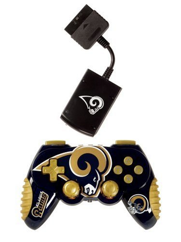 Officially Licensed St. Louis RAMS Nfl Wireless PS2 -