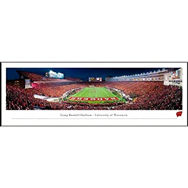 Wisconsin Badgers - Camp Randall Stadium - End Zone - Framed Poster Print